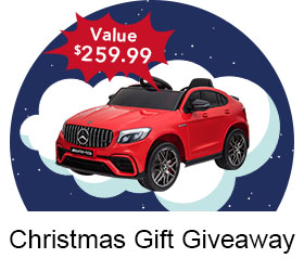 The Aosom Christmas Gift Ride-On Car Giveaway!! Enter now!